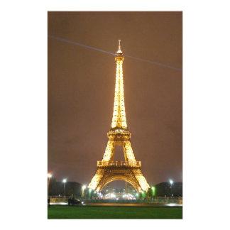 Beau Tour Eiffel Prospectus 14 Cm X 21,6 Cm