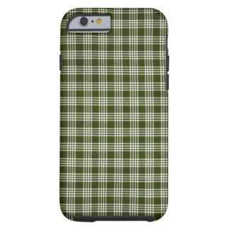 Beau, vert-foncé et blanc coque tough iPhone 6