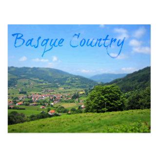 Beau village de Spansh dans la campagne Basque Cartes Postales