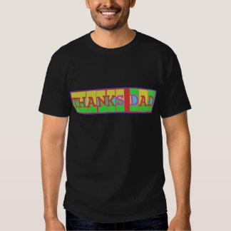 """Beaucoup de manières de dire le """"papa de mercis"""" : t-shirts"""