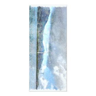 Beaucoup de moulins à vent carton d'invitation  10,16 cm x 23,49 cm