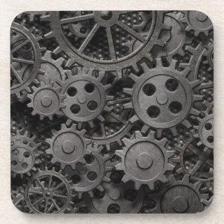 Beaucoup de vieilles vitesses en métal ou pièces r sous-bock