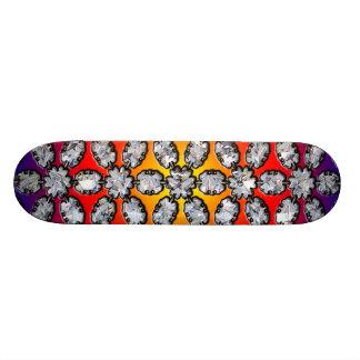 Beauté d'arc-en-ciel et de diamant plateau de skateboard