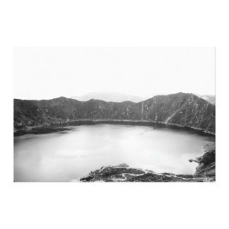 Beauté de montagne noire et blanche toiles