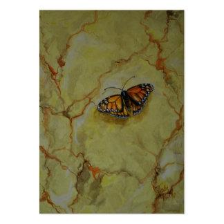 Beauté de papillon carte de visite grand format
