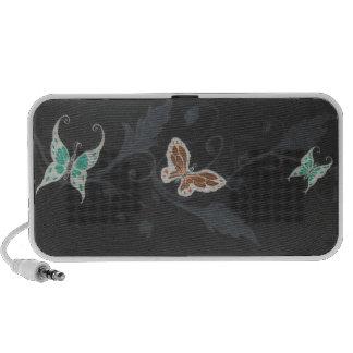 Beauté de papillon système de haut-parleurs