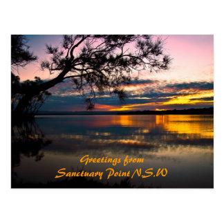 Beauté de sanctuaire, salutations de sanctuaire carte postale