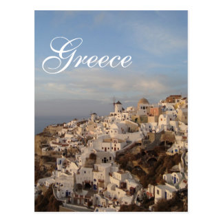 Beauté de Santorini, Grèce Cartes Postales