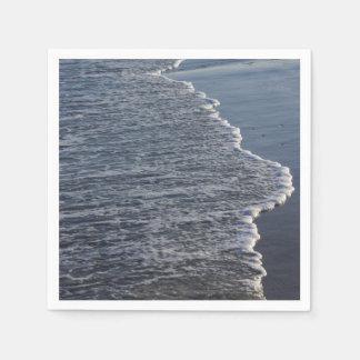Beauté de Shoreline Serviette Jetable