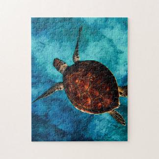Beauté de tortue de mer puzzles