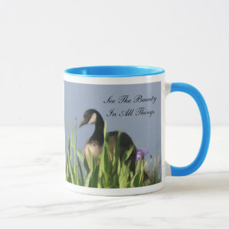 Beauté d'oie du Canada inspirée Mug