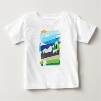 Beauté du sauvage t-shirt pour bébé