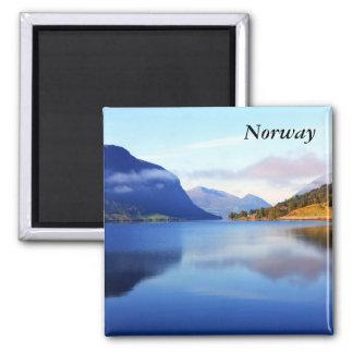 Beauté scandinave, Norvège Magnet Carré