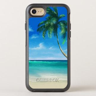 Beauté tropicale d'été de plage coque OtterBox symmetry iPhone 8/7