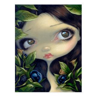 """""""Beautés toxiques I : Carte postale de belladone"""""""