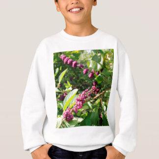 Beautyberry sauvage Bush dehors dans le jour Sweatshirt