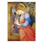Beaux-arts Burne-Jones de cartes de Noël d'ange
