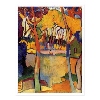 Beaux-arts d'arbres d'André Derain trois Carte Postale