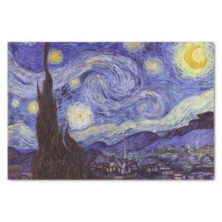 Beaux-arts de cru de nuit étoilée de Vincent van Papier Mousseline