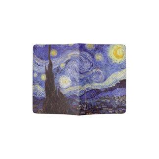 Beaux-arts de cru de nuit étoilée de Vincent van Protège-passeports