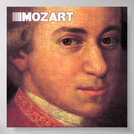 Beaux-arts de Mozart sur la toile Posters
