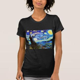 Beaux-arts de nuit étoilée de Van Gogh T-shirt
