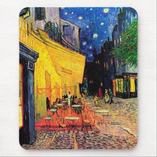 Beaux-arts de Terrace Place du Forum Van Gogh de Tapis De Souris