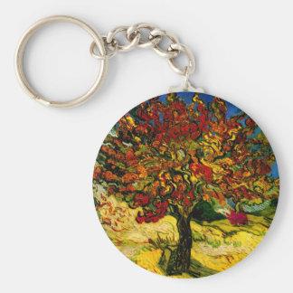 Beaux-arts du mûrier de Van Gogh (F637) Porte-clé