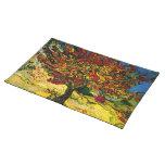 Beaux-arts du mûrier de Van Gogh (F637) Sets De Table