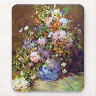 Beaux-arts Mousepad de bouquet de ressort Tapis De Souris