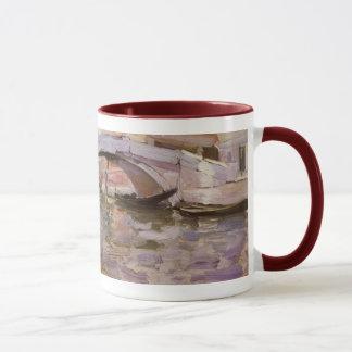 Beaux-arts victoriens vintages, gondoles par mugs