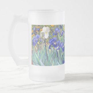 Beaux-arts vintages floraux d'iris de Vincent van Mug