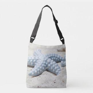 Beaux coquille et sable d'étoile de mer de plage sac ajustable