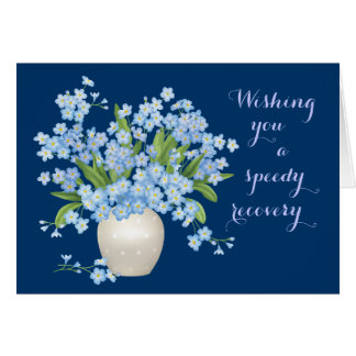 Beaux floraux obtiennent des souhaits bons carte de vœux