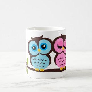 Beaux hiboux mug
