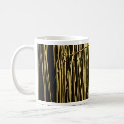 Beaux poils de balai tasses à café