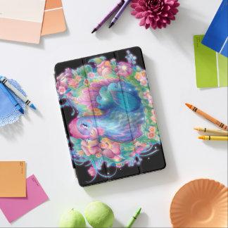 Beaux poulet et fleurs protection iPad air
