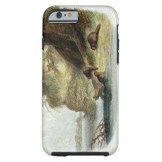 Beaver la hutte sur le Missouri, plaquez 17 du Coque iPhone 6 Tough