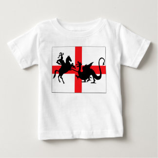 Bébé anglais de drapeau t-shirt
