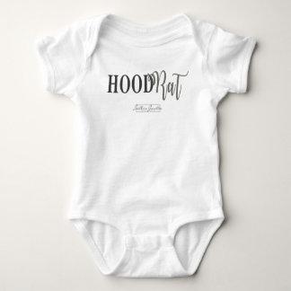 Bébé blanc Onsie de Hoodrat- Body