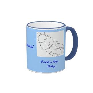 bébé, Congrats aux nouveaux parents ! , Mug Ringer