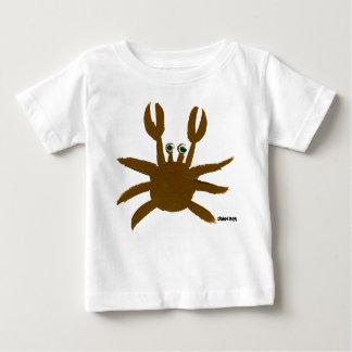 Bébé d'art : Crabe et mouette fous T-shirt Pour Bébé