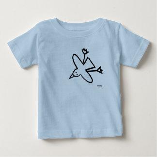 Bébé d'art : Dessin de mouette de tinctorial de T-shirt Pour Bébé