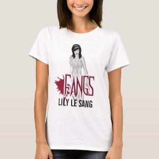 Bébé de caractère de FANGS LILY LE SANG - chemise T-shirt