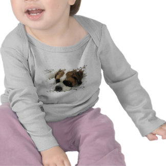 Bébé de chien de St Bernard T-shirts