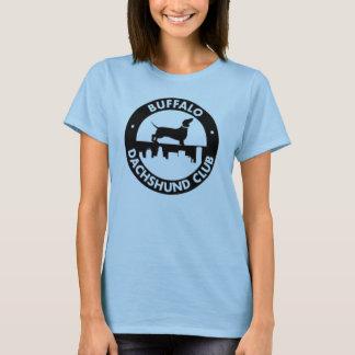 Bébé de dames de club de teckel de Buffalo - T-shirt