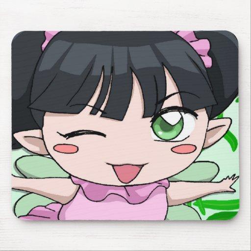 Bébé de fée de Manga Tapis De Souris