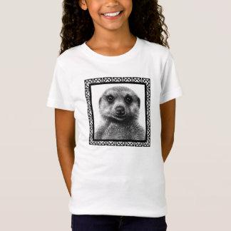 Bébé de filles de Meerkat - T-shirt de poupée