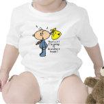 Bébé de la Chambre de la grand-maman (BLEU) T-shirts