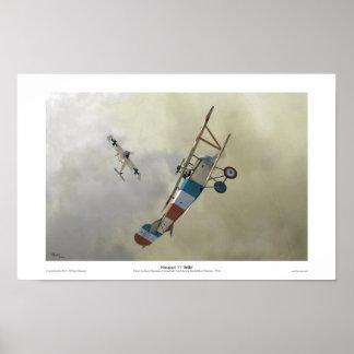` BéBé de Nieuport 11 Posters